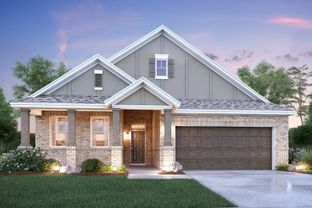 Sanders - Berkshire: Fort Worth, Texas - M/I Homes