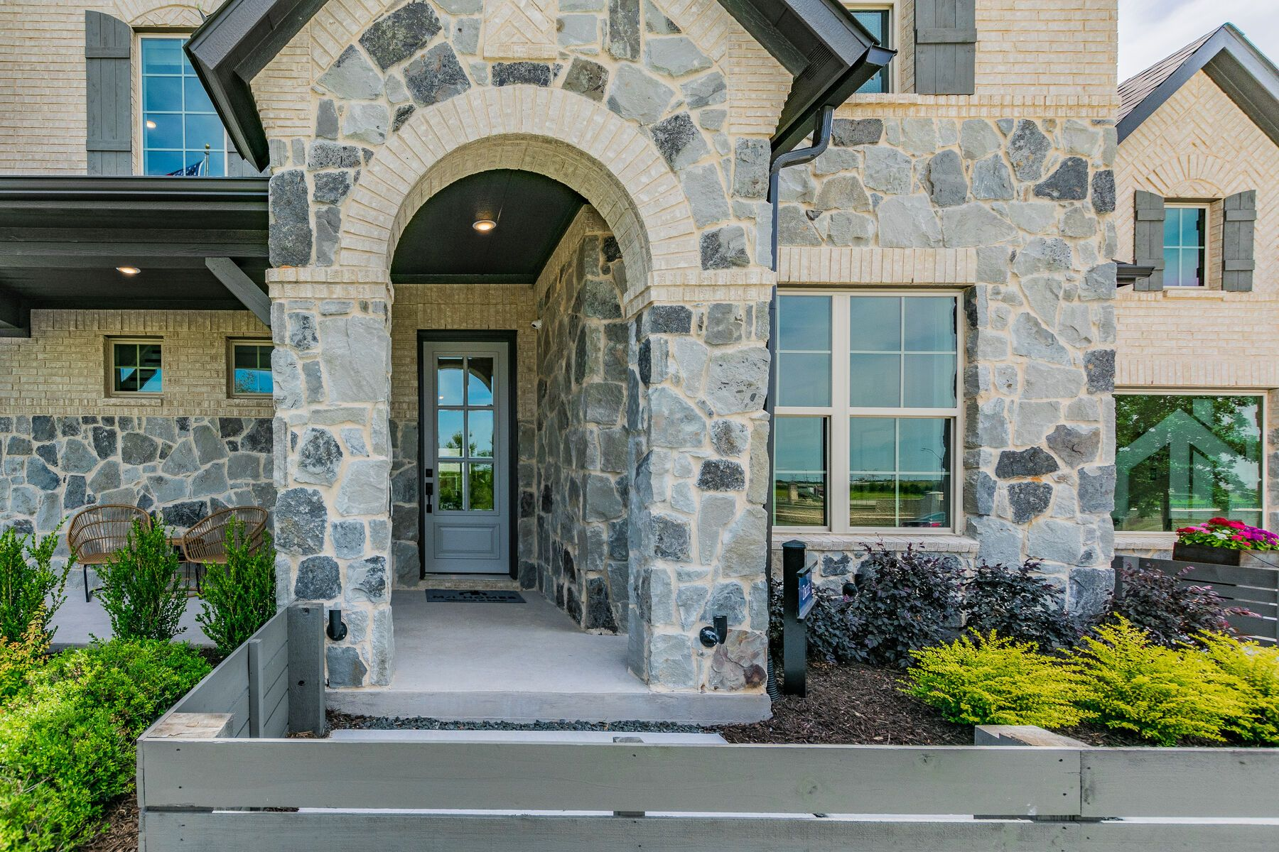Exterior featured in the Zacate By M/I Homes in Fort Worth, TX
