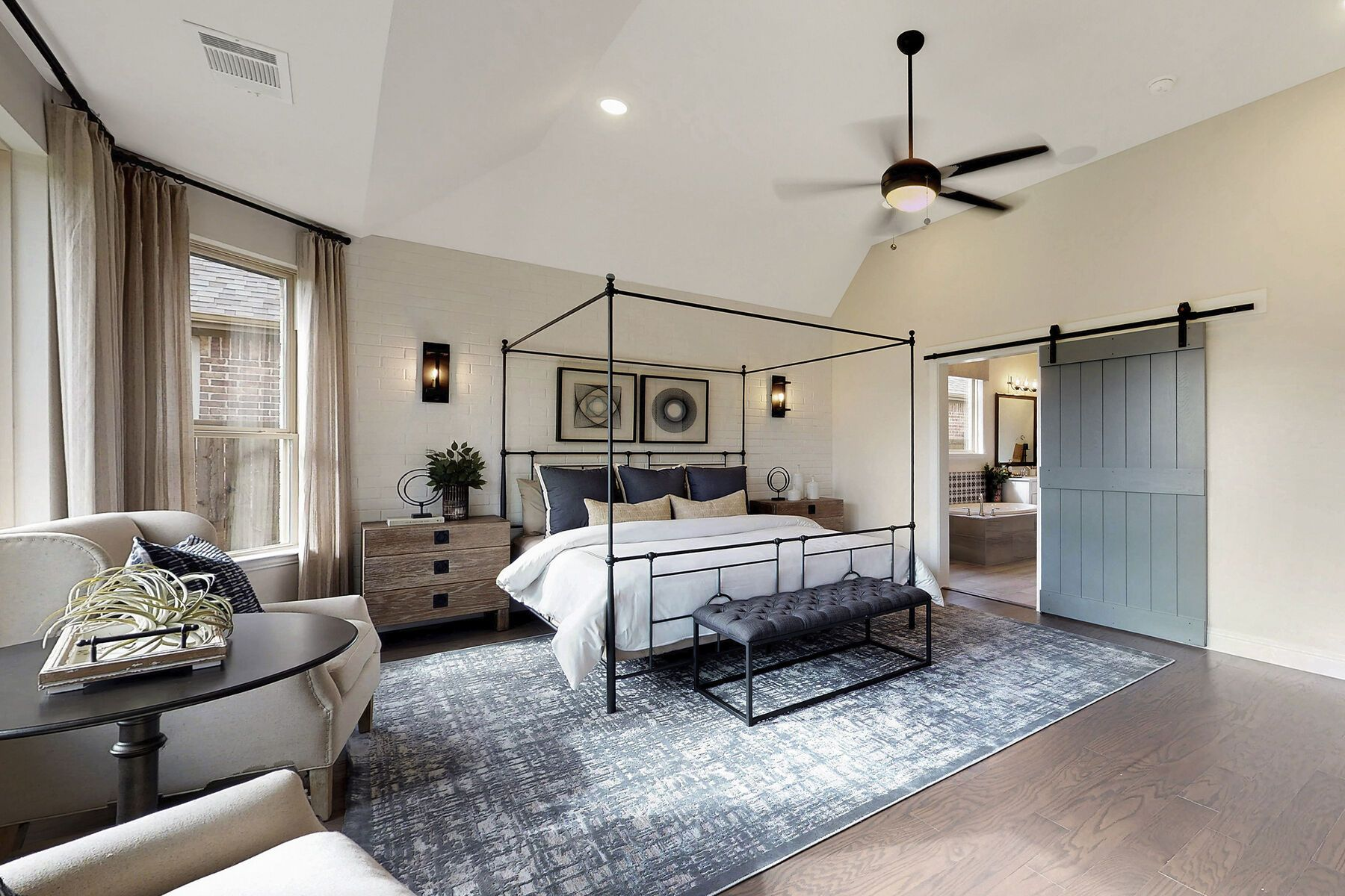 Bedroom featured in the Zacate By M/I Homes in Fort Worth, TX