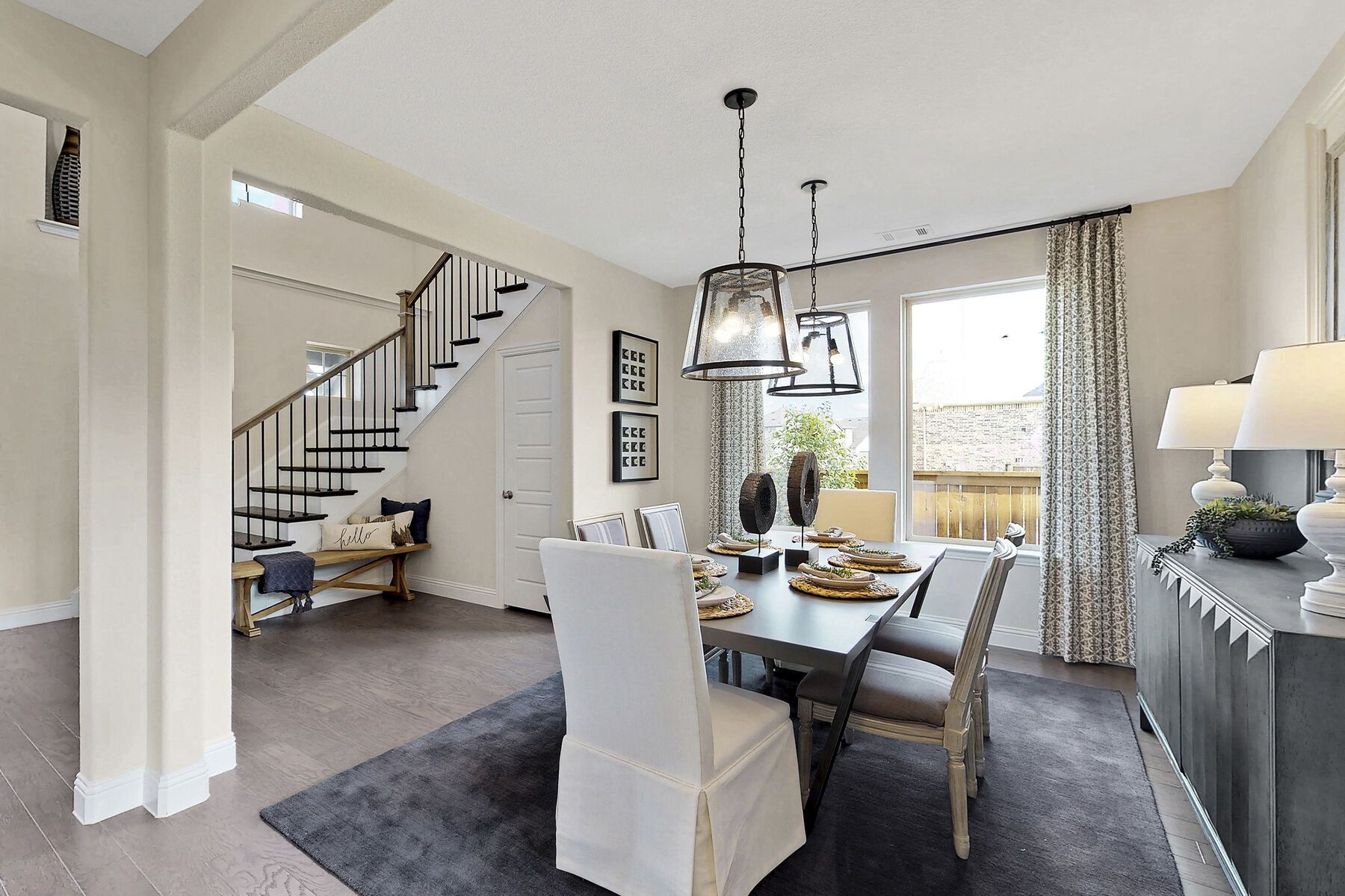 Living Area featured in the Zacate By M/I Homes in Fort Worth, TX