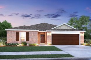 Moscoso - Copper Creek: Fort Worth, Texas - M/I Homes