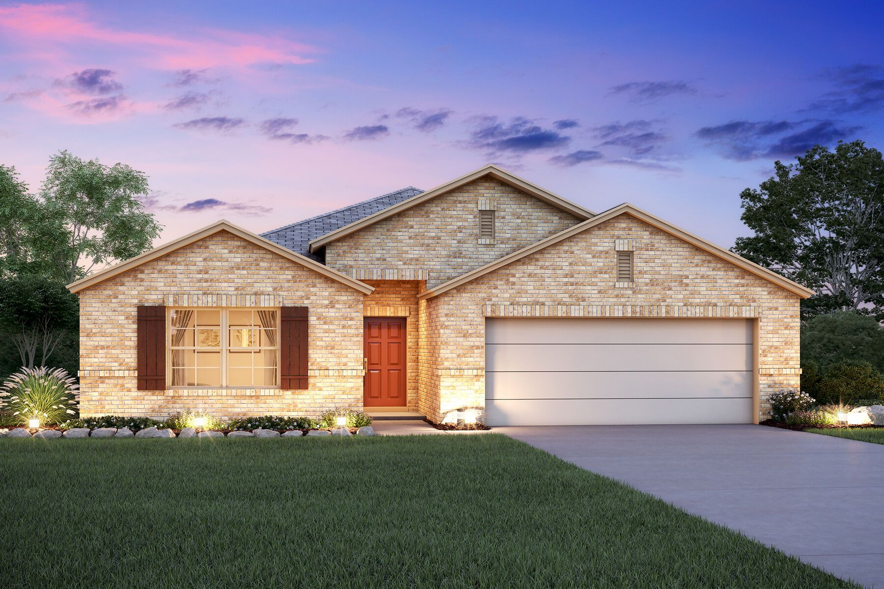 Exterior featured in the Pizarro By M/I Homes in Fort Worth, TX