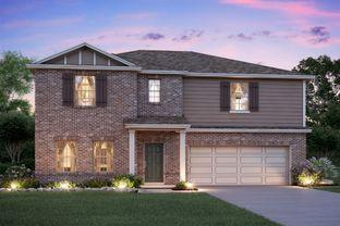Columbus - Pinewood At Grand Texas: New Caney, Texas - M/I Homes