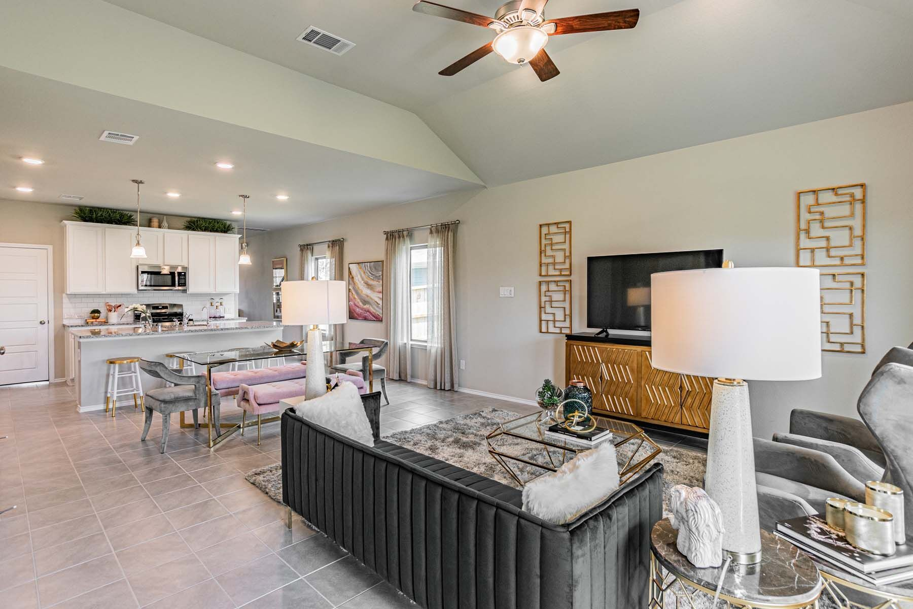 Living Area featured in the Dogwood By M/I Homes in Houston, TX