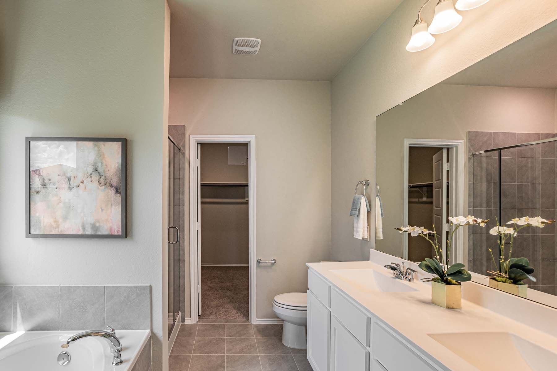 Bathroom featured in the Dogwood By M/I Homes in Houston, TX