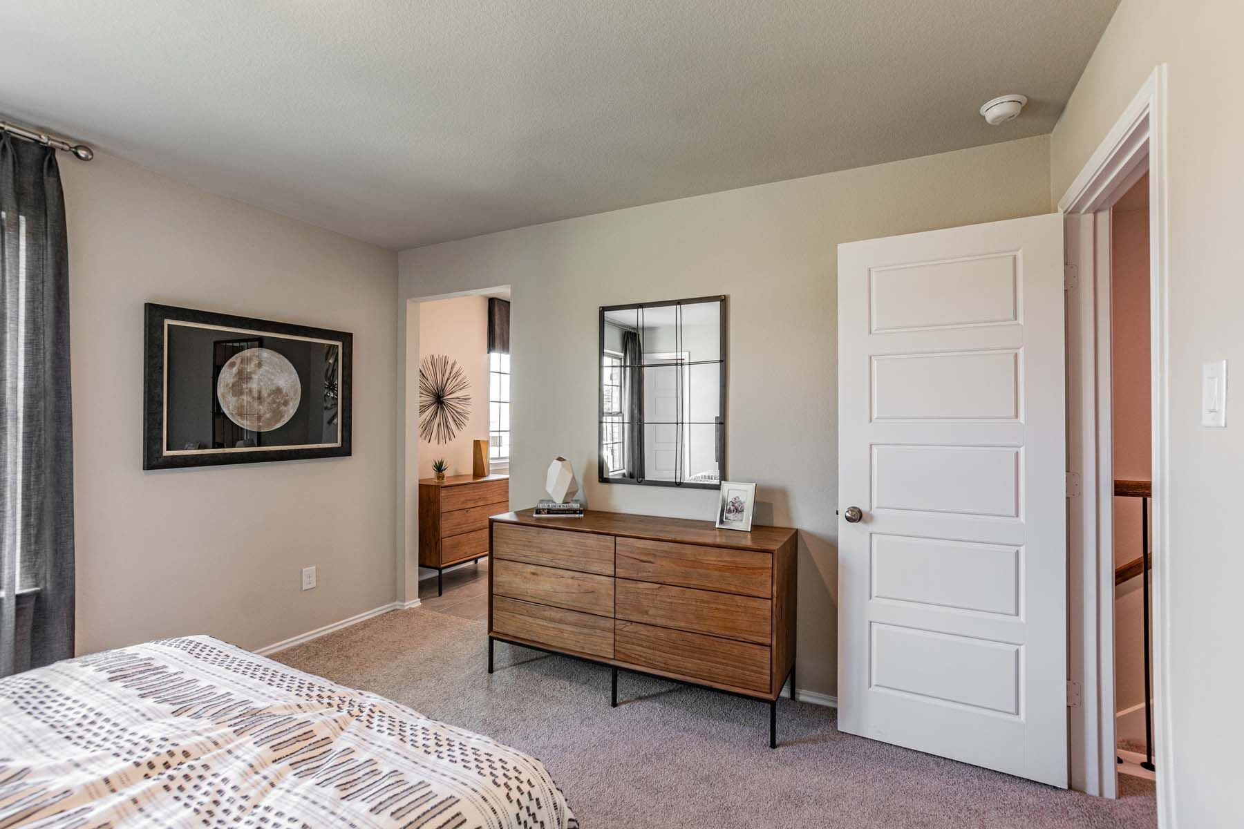 Bedroom featured in the Dogwood By M/I Homes in Houston, TX