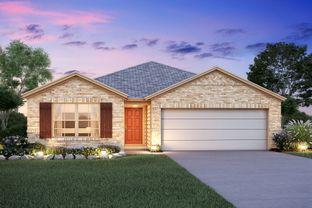 Dawson - Pinewood At Grand Texas: New Caney, Texas - M/I Homes