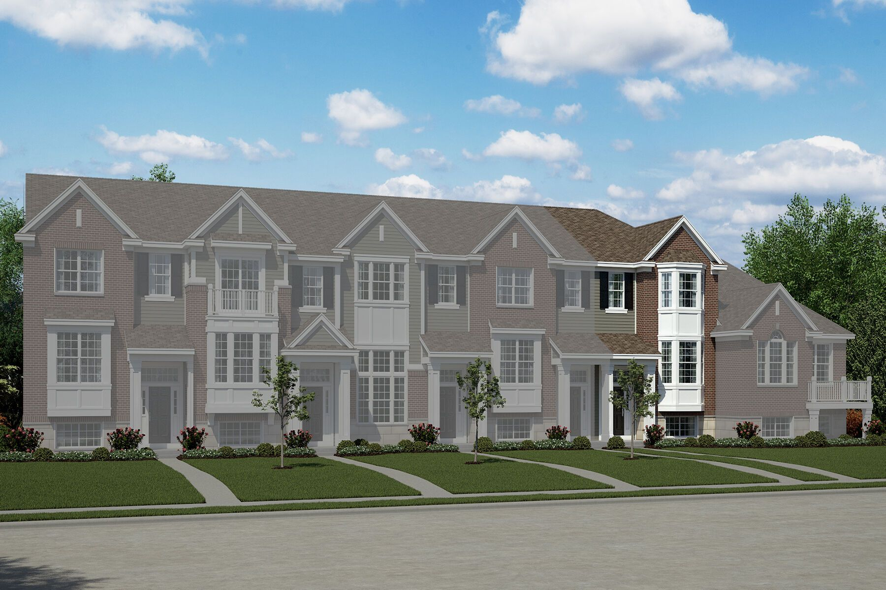 Exterior featured in the Harper By M/I Homes in Detroit, MI