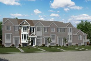 Hawthorn - The Towns at Cherry Hill: Canton, Michigan - M/I Homes