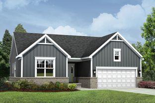 Whitmore - Green Oak Crossing: Brighton, Michigan - M/I Homes