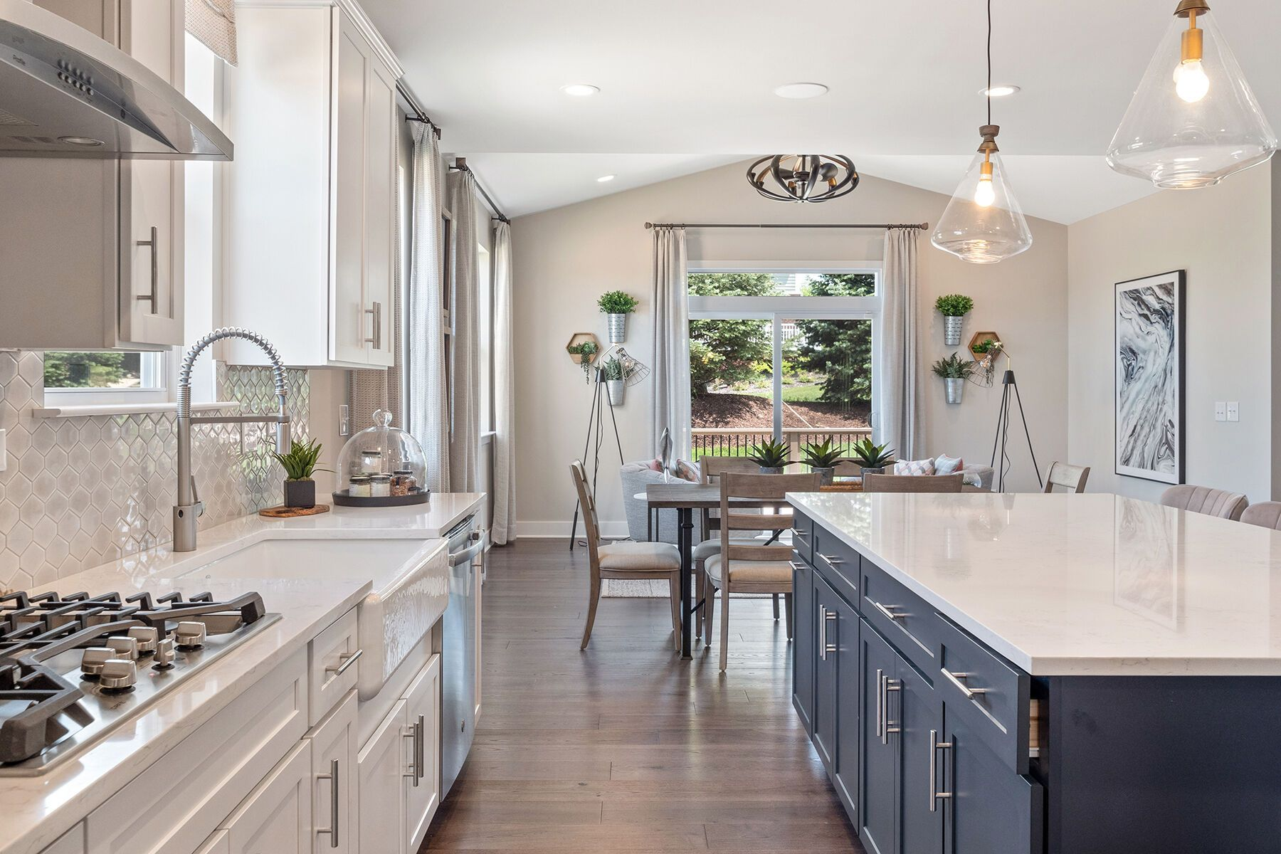 Kitchen featured in the Ashford By M/I Homes in Detroit, MI