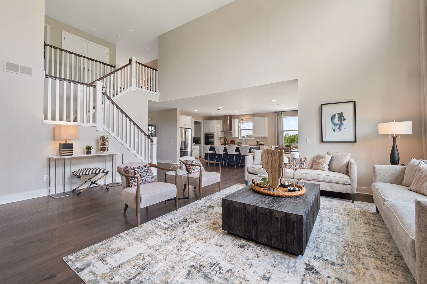 Living Area featured in the Ashford By M/I Homes in Detroit, MI
