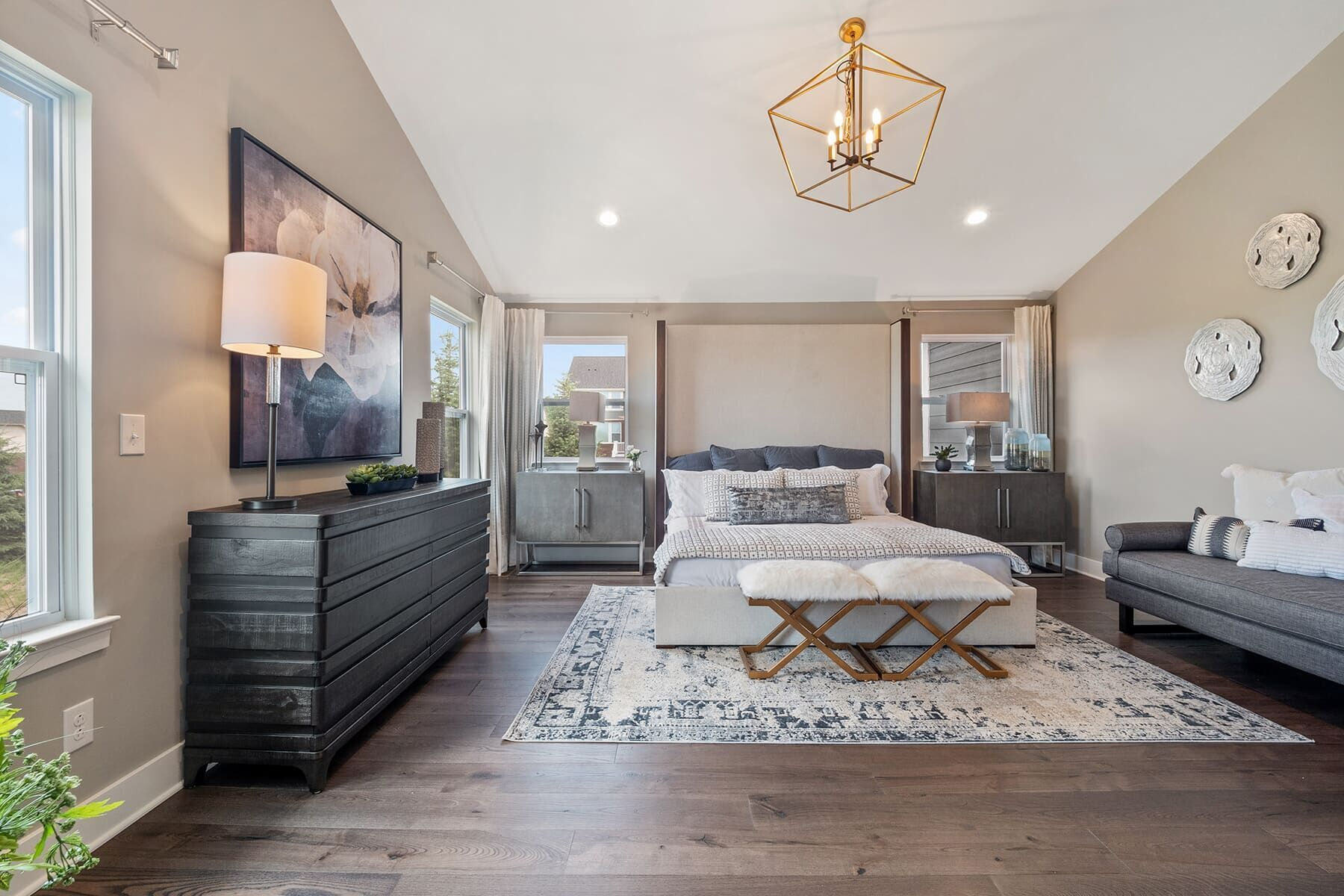 Bedroom featured in the Ashford By M/I Homes in Detroit, MI