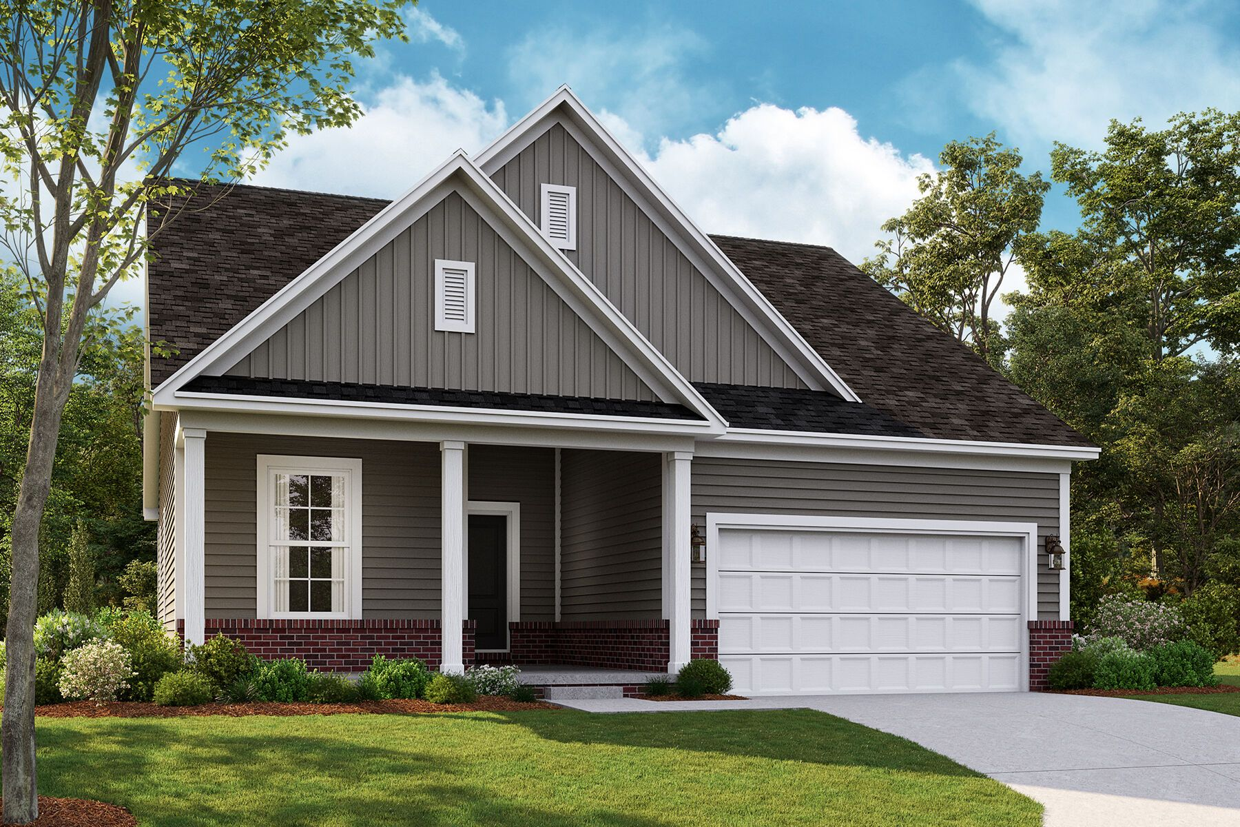 Exterior featured in the Ashland By M/I Homes in Detroit, MI