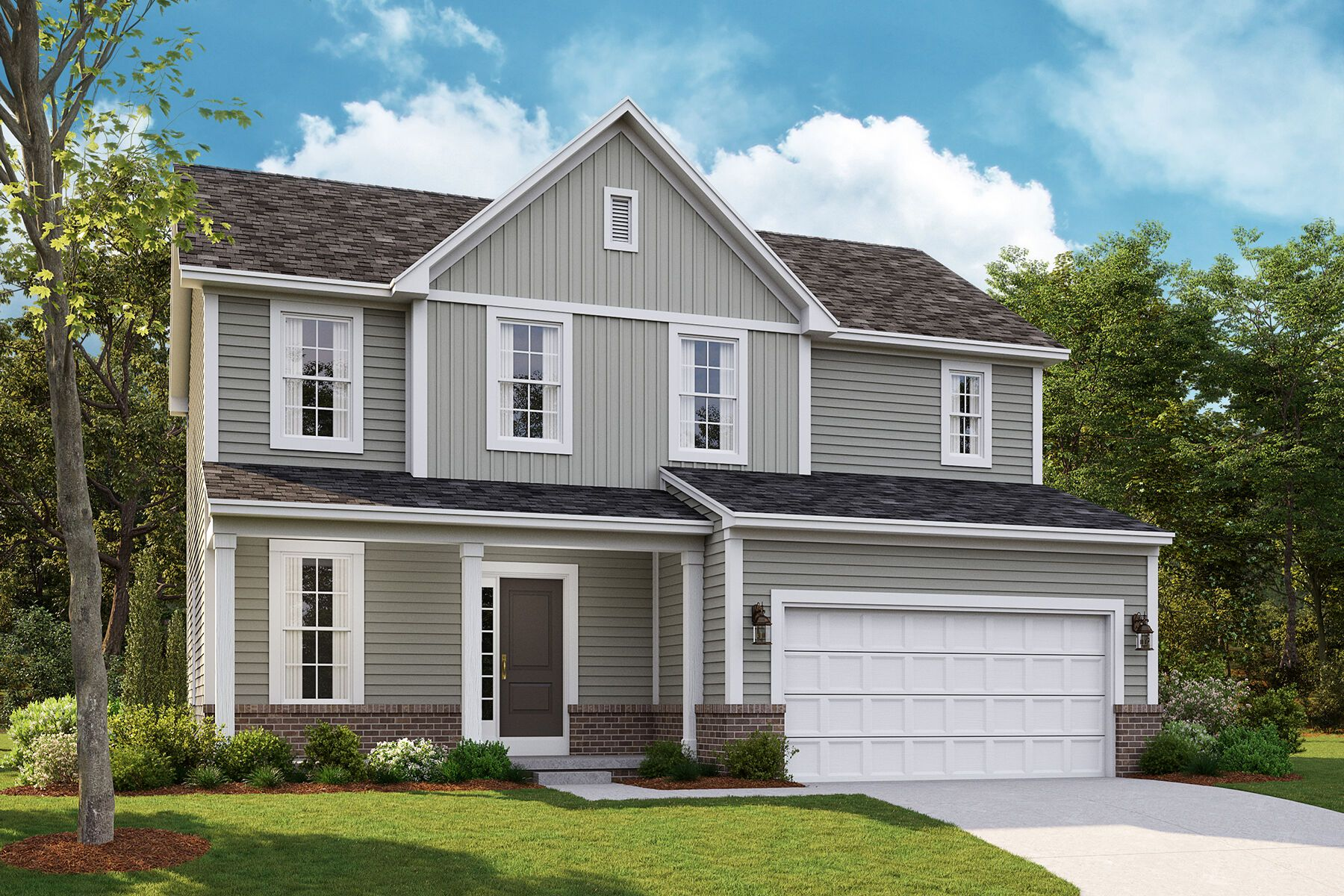 Exterior featured in the Dearborn By M/I Homes in Detroit, MI