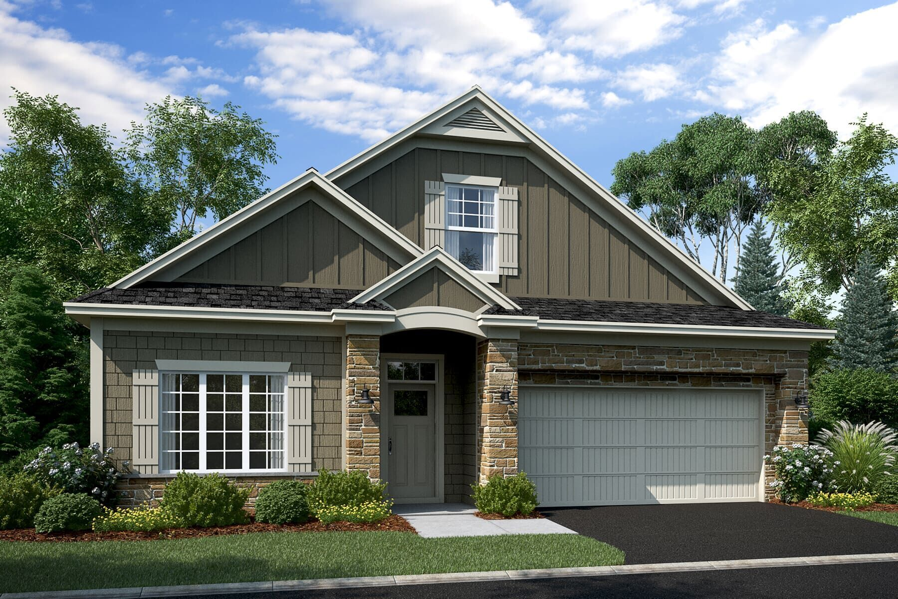 Exterior featured in the Elmwood IV By M/I Homes in Minneapolis-St. Paul, MN