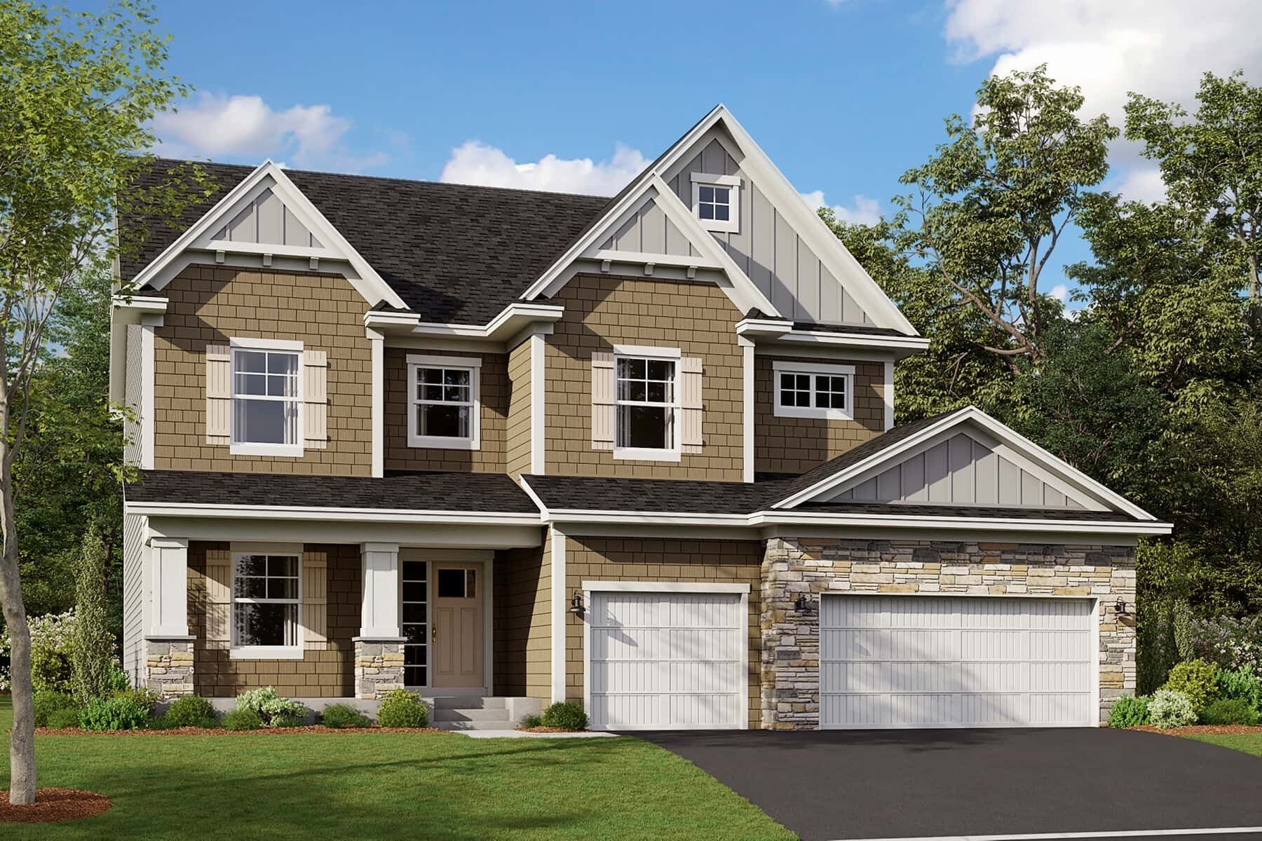 Exterior featured in the Alexander By M/I Homes in Minneapolis-St. Paul, MN