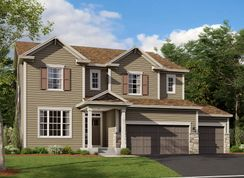 Jordan - Vista Pointe: Saint Michael, Minnesota - M/I Homes