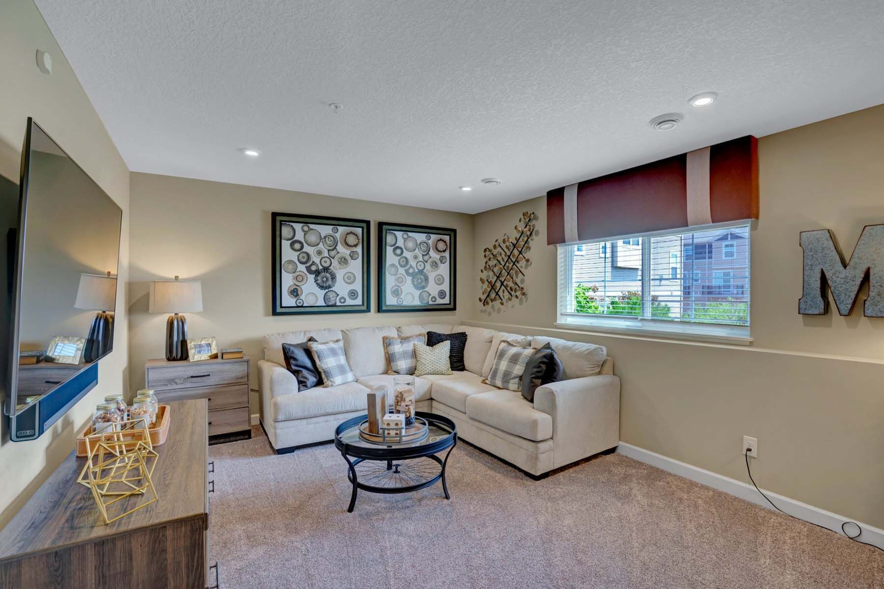 Living Area featured in the Harrison By M/I Homes in Minneapolis-St. Paul, MN