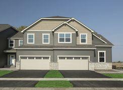 Nokomis - 4 Unit Bldg - Woodward Ponds: Cottage Grove, Minnesota - M/I Homes