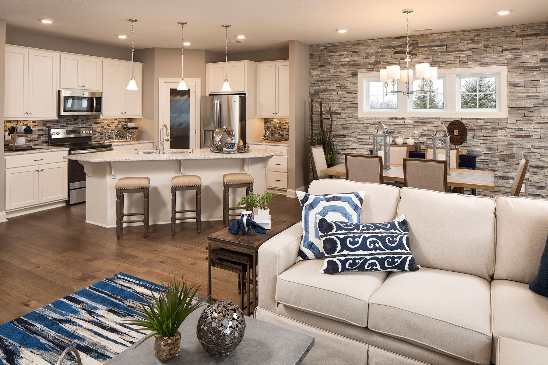 Living Area featured in the Elmwood IV By M/I Homes in Minneapolis-St. Paul, MN