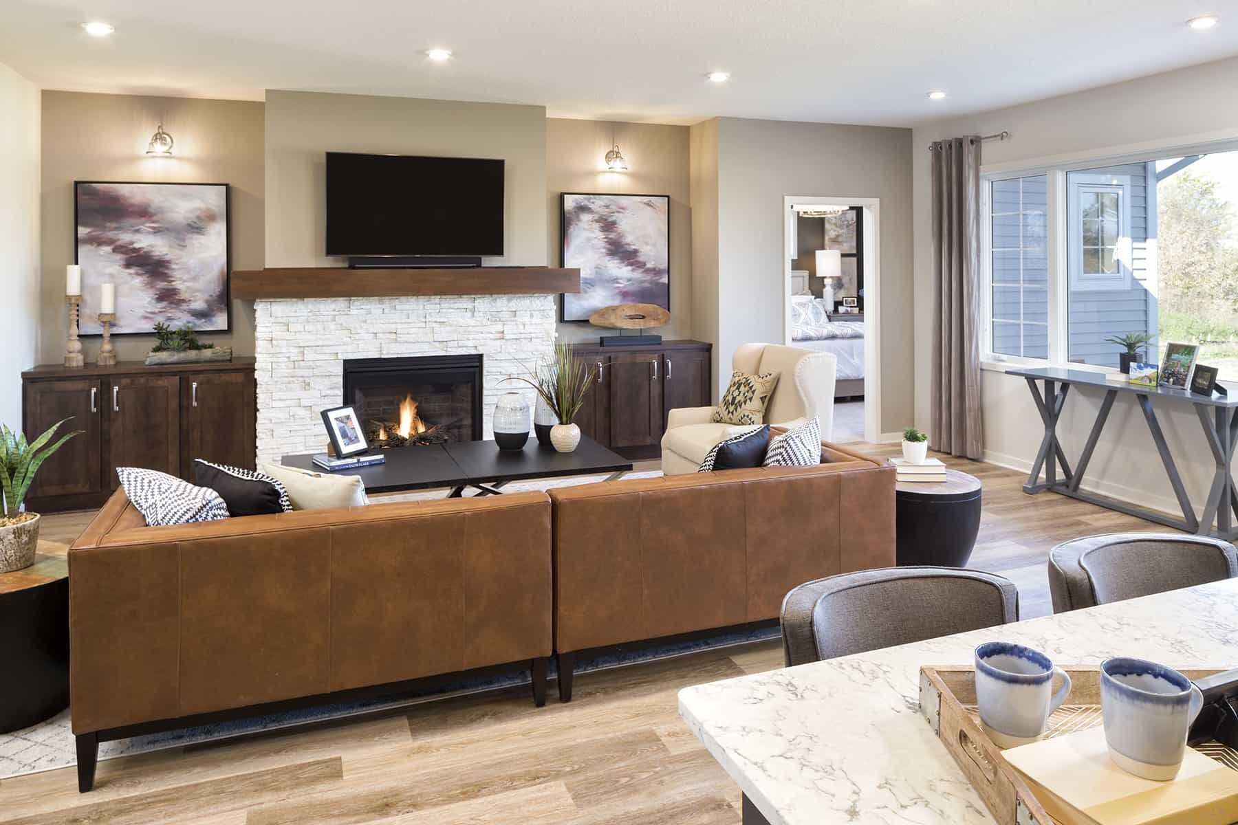 Living Area featured in the Willow By M/I Homes in Minneapolis-St. Paul, MN