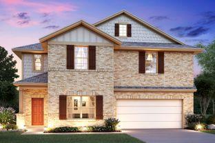 Cortez - Greenfield: Seguin, Texas - M/I Homes