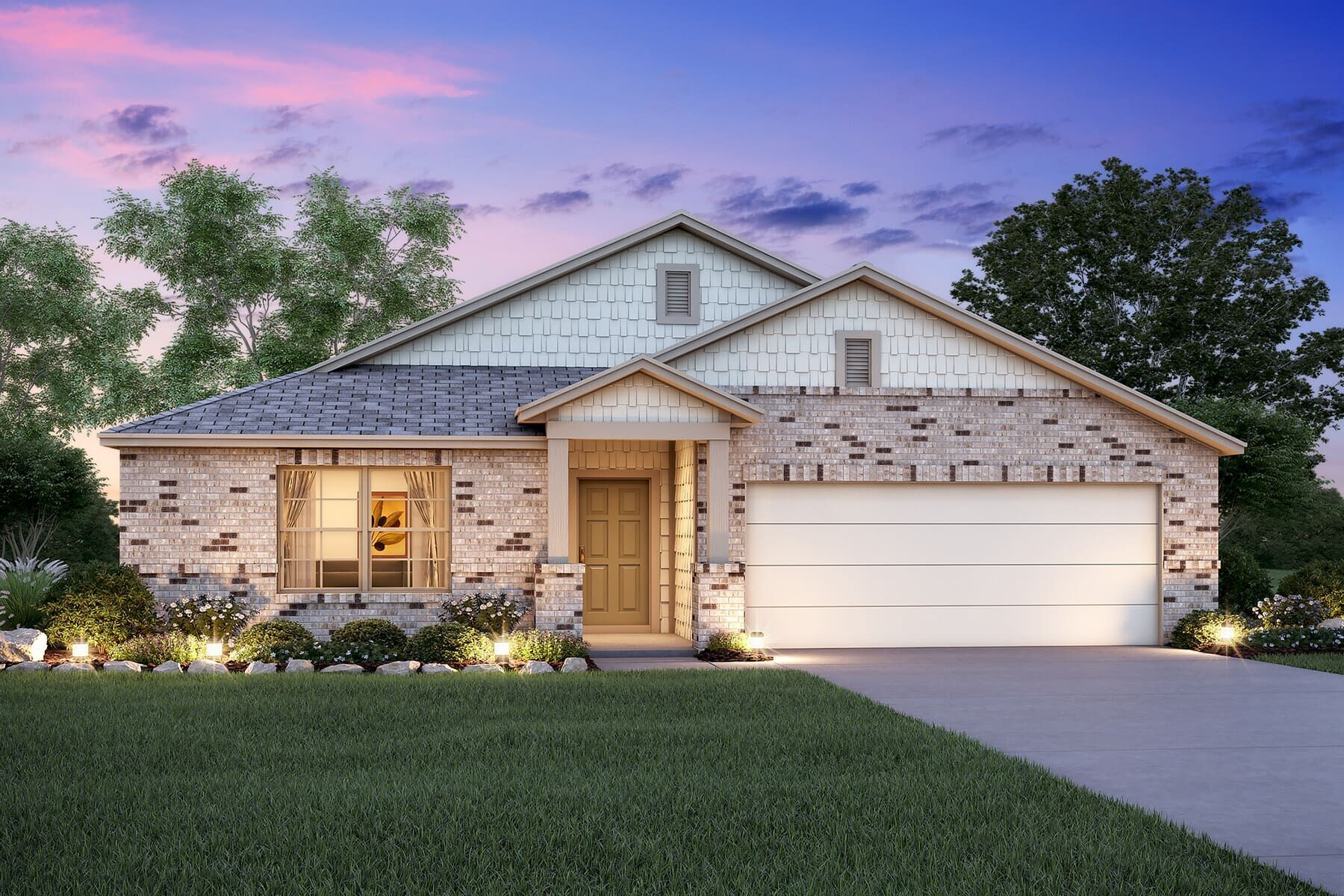 Exterior featured in the Devaca By M/I Homes in San Antonio, TX