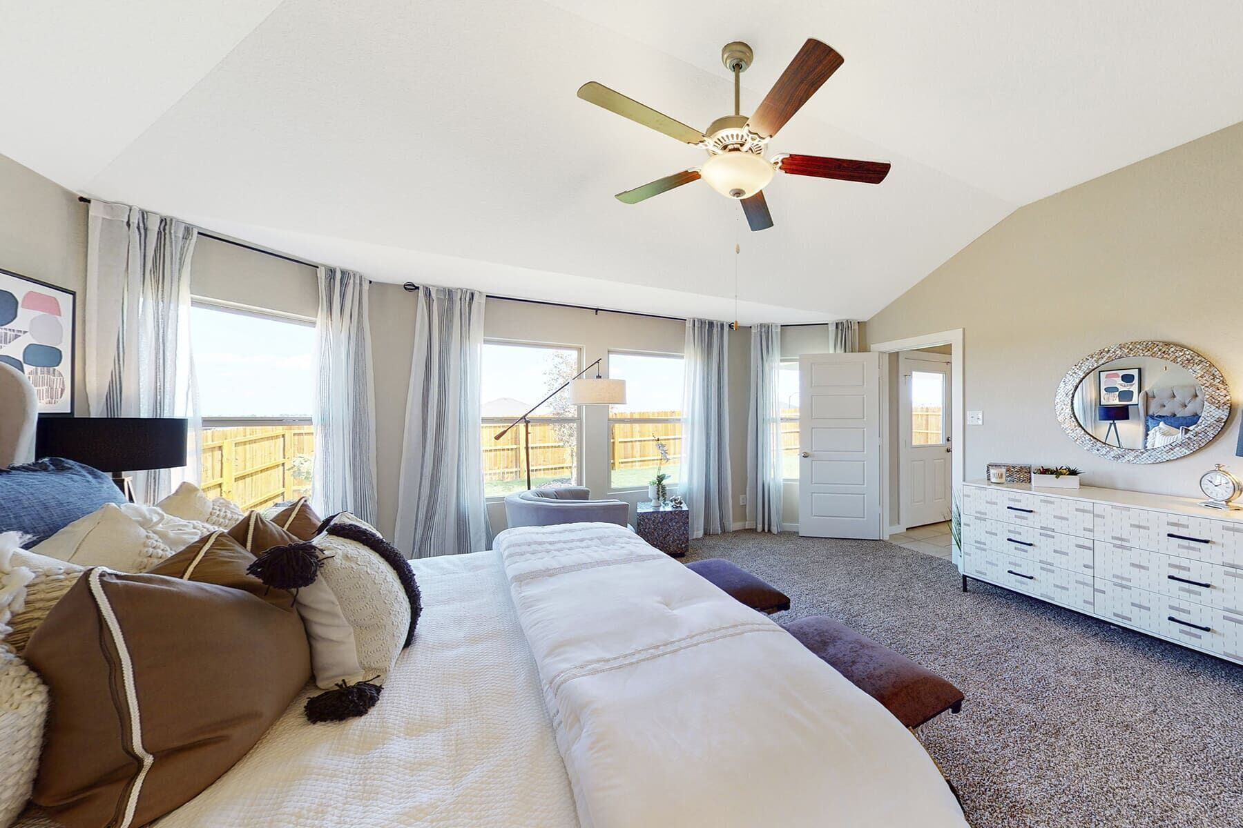 Bedroom featured in the Eastland By M/I Homes in San Antonio, TX