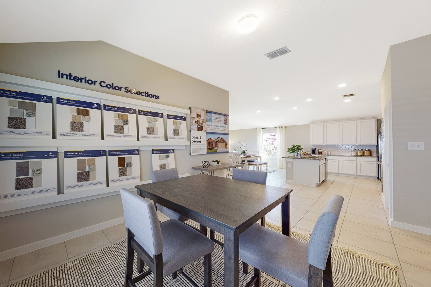 Living Area featured in the Eastland By M/I Homes in San Antonio, TX
