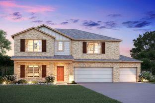 Columbus - Reserve at Mockingbird Heights: New Braunfels, Texas - M/I Homes