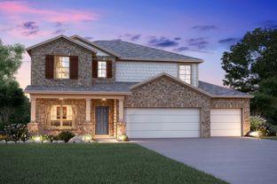 Harrison - Reserve at Mockingbird Heights: New Braunfels, Texas - M/I Homes