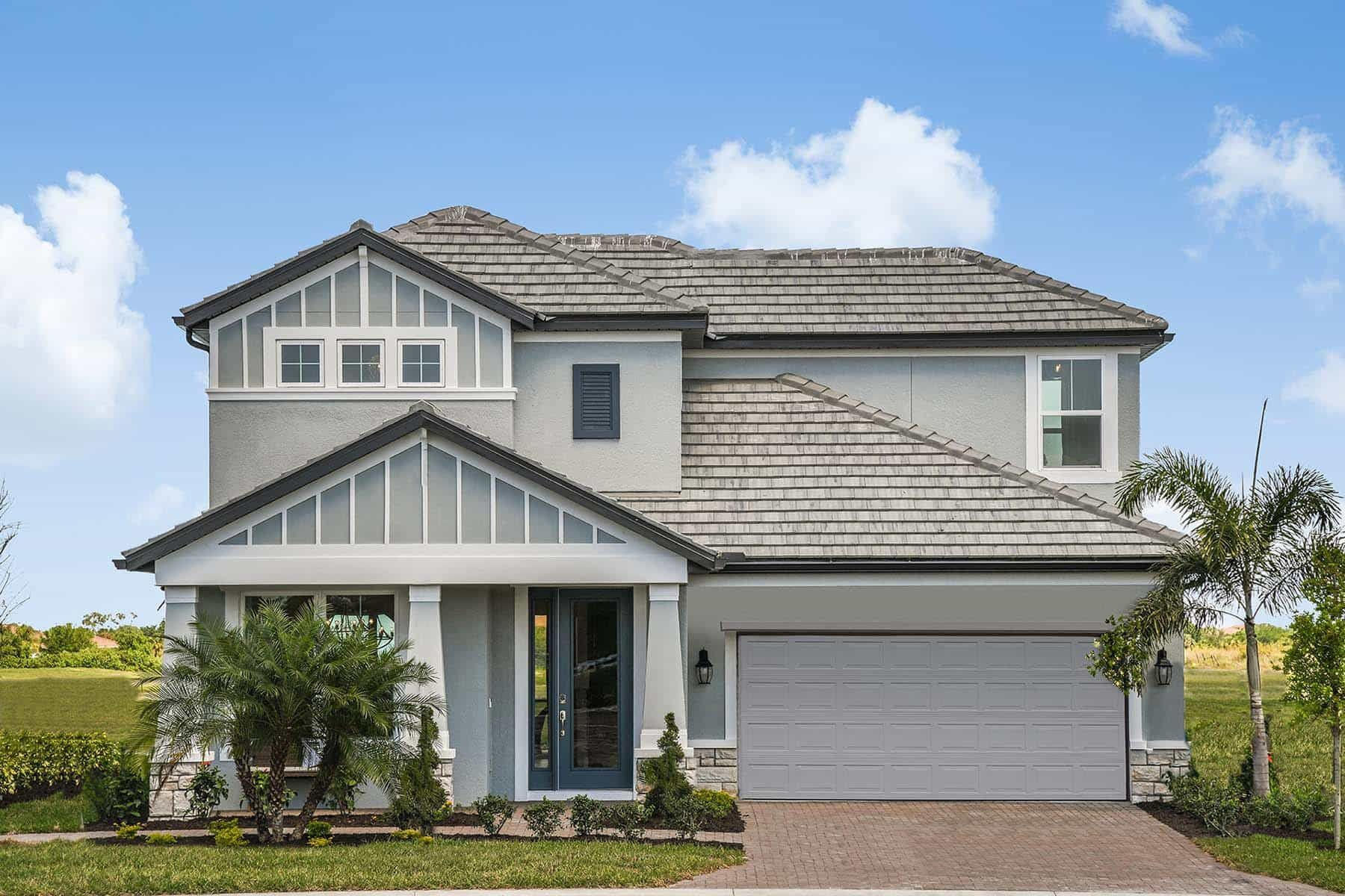 Exterior featured in the Halifax By M/I Homes in Sarasota-Bradenton, FL