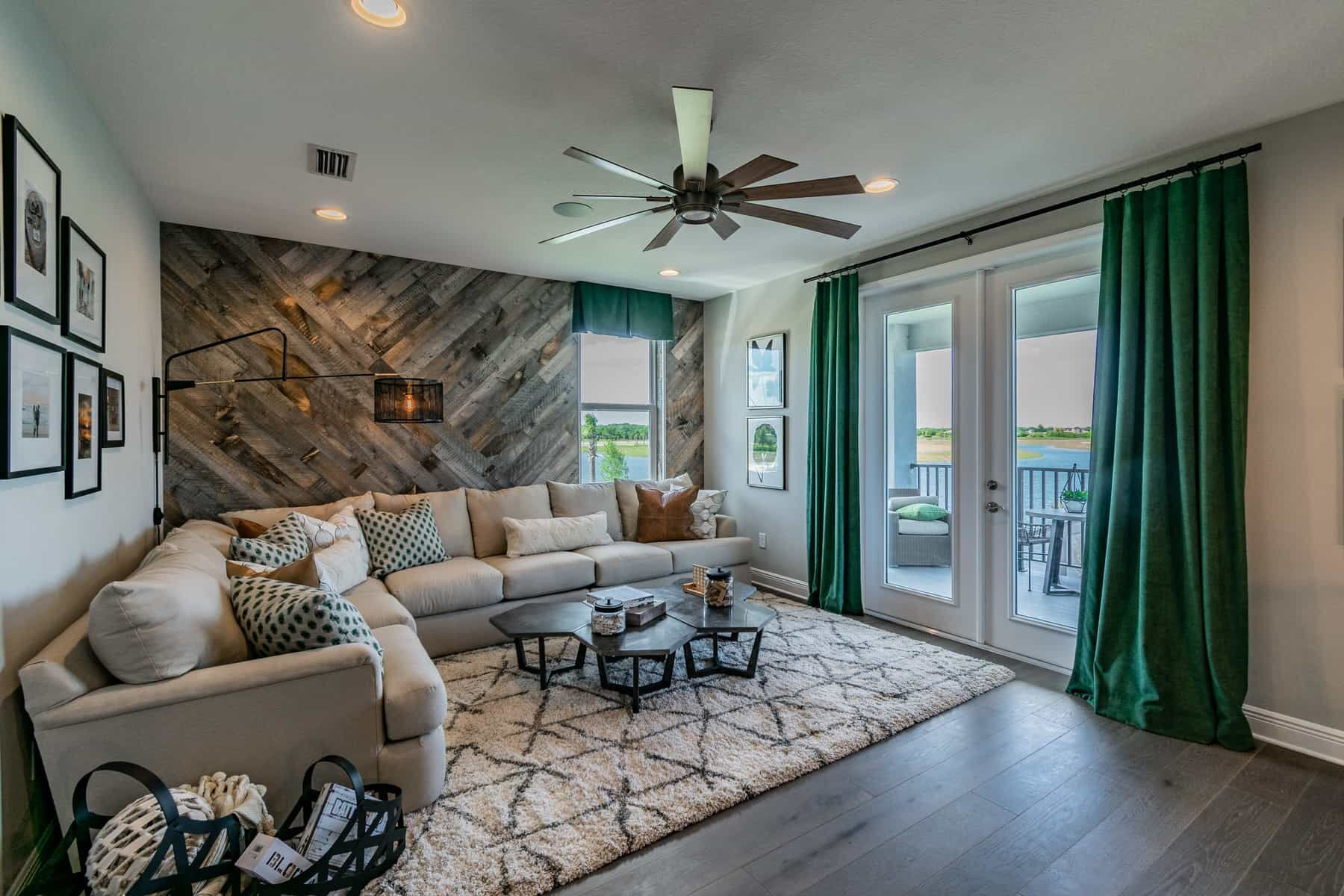 Living Area featured in the Halifax By M/I Homes in Sarasota-Bradenton, FL