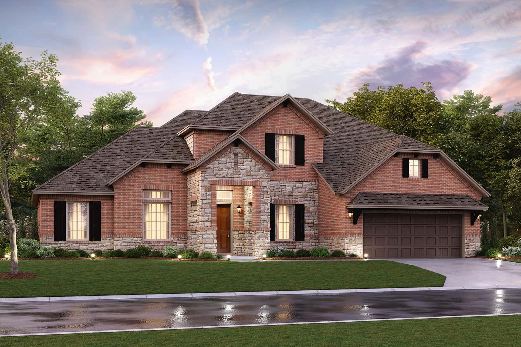 Exterior featured in the Ventura By M/I Homes in Houston, TX