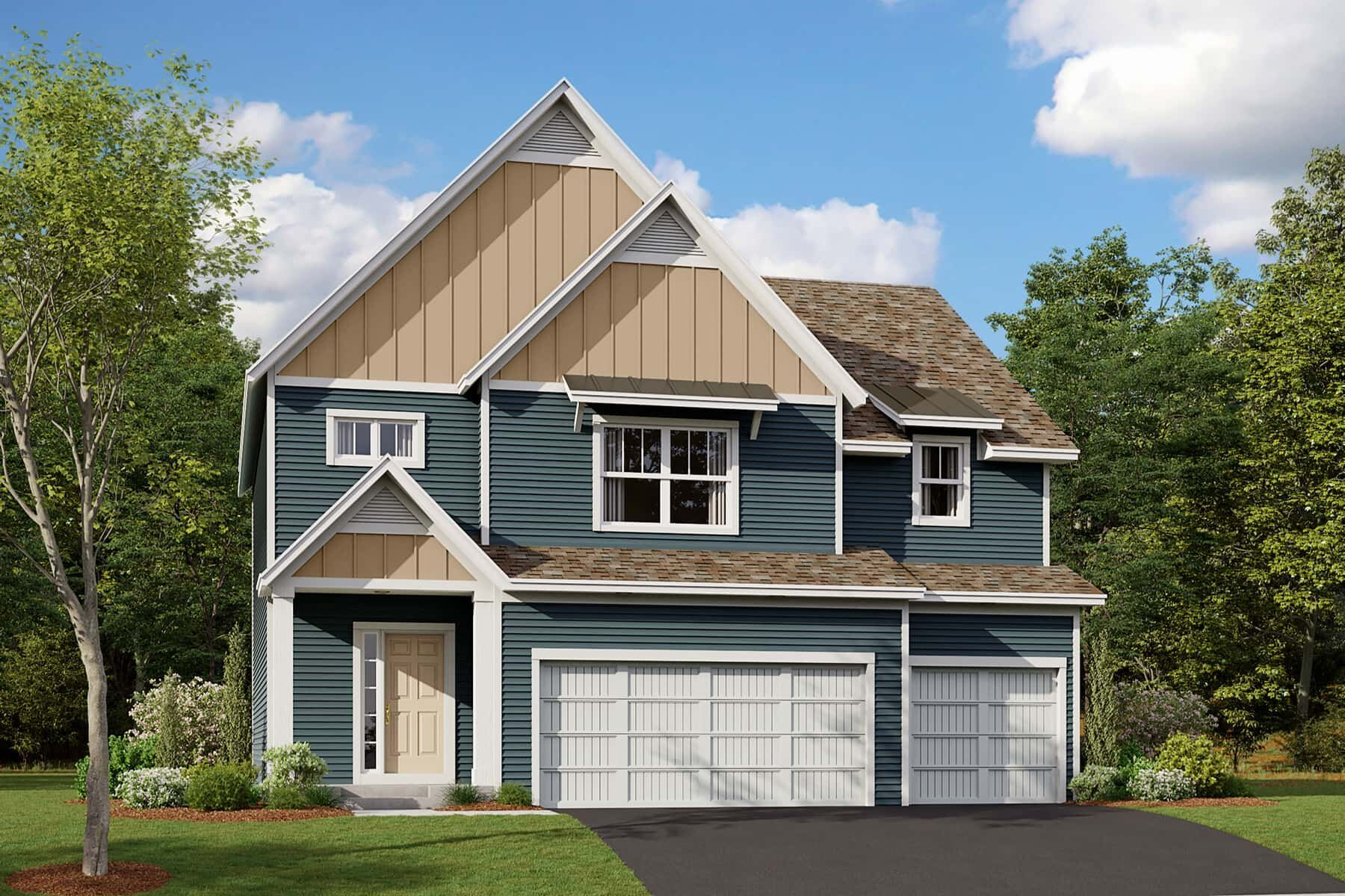Exterior featured in the Wilson By M/I Homes in Minneapolis-St. Paul, MN