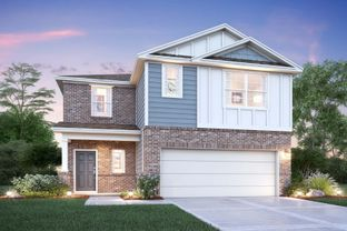 Larkspur - Pinewood At Grand Texas: New Caney, Texas - M/I Homes