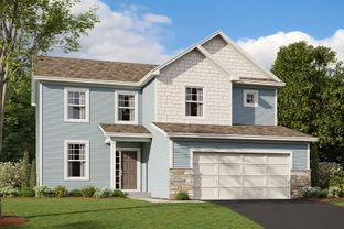 Dearborn - Vista Pointe: Saint Michael, Minnesota - M/I Homes