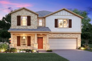 Armstrong - Overlook At Creekside: New Braunfels, Texas - M/I Homes