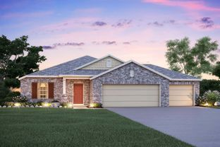 Desoto - Reserve at Mockingbird Heights: New Braunfels, Texas - M/I Homes