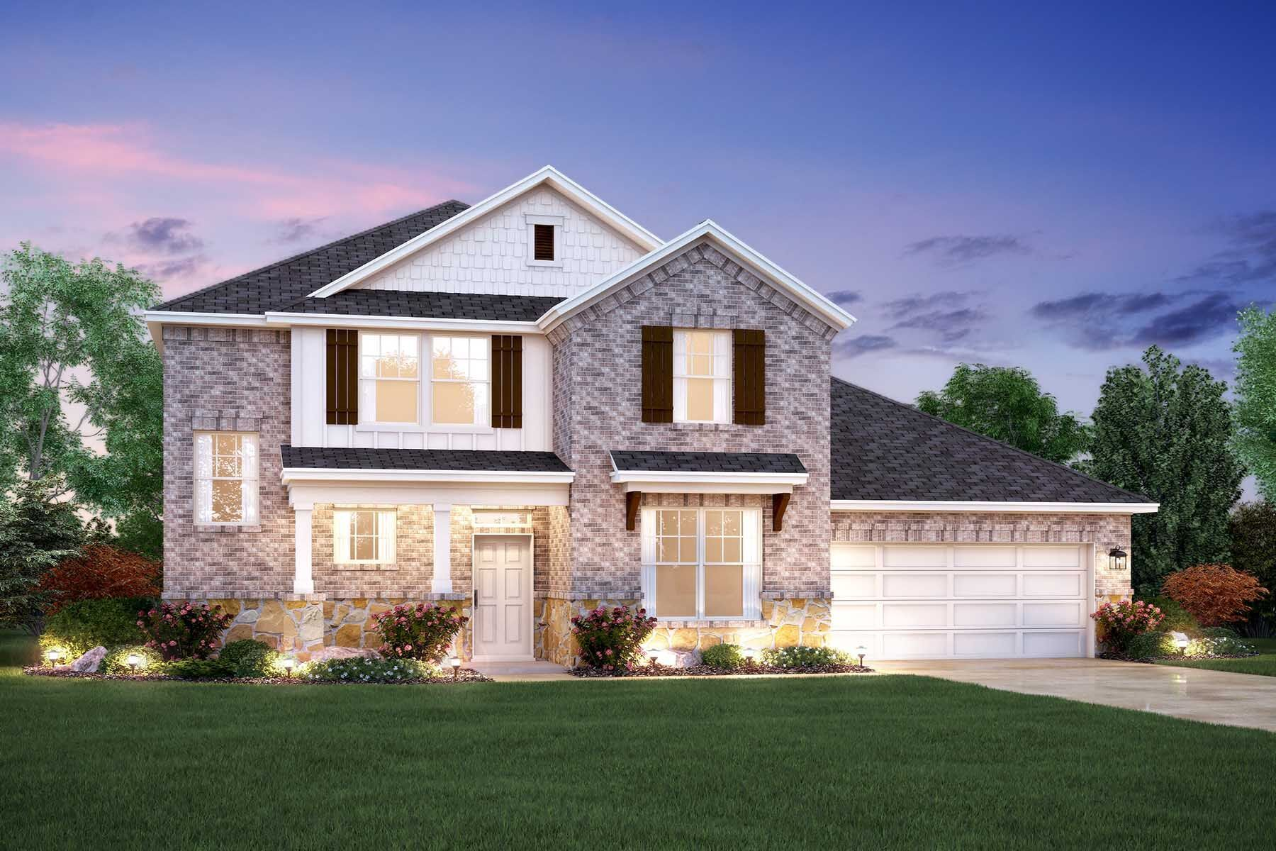 Exterior featured in the Zacate By M/I Homes in Austin, TX