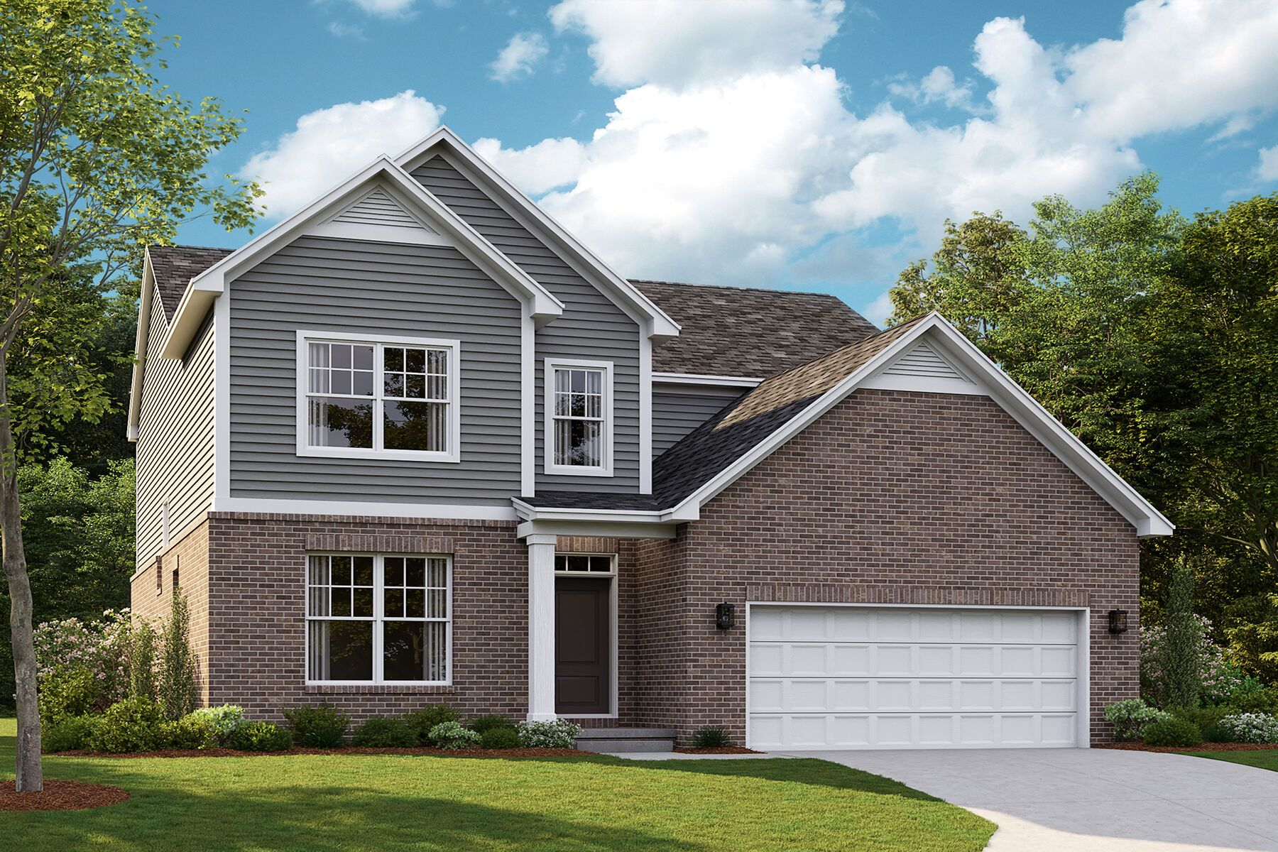 Exterior featured in the Magnolia By M/I Homes in Detroit, MI