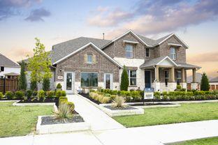 Dickinson - Hollyhock: Frisco, Texas - M/I Homes
