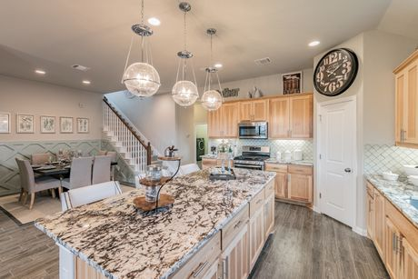 Kitchen-in-Paramount-at-Carmel Creek-in-Hutto