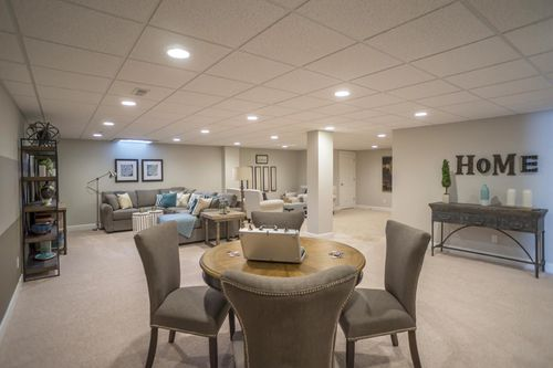 Recreation-Room-in-Belmont-at-Glacier Club-in-Washington Township