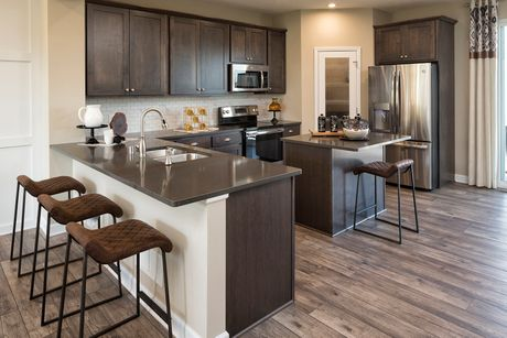 Kitchen-in-Harrison-at-Whispering Hills Townhomes-in-Victoria