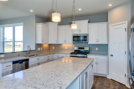 Kitchen-in-Taylor-at-Boulder Creek Single Family-in-Otsego