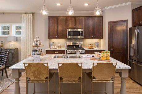 Kitchen-in-Cedarwood-at-Carmichael Ridge-in-Hudson