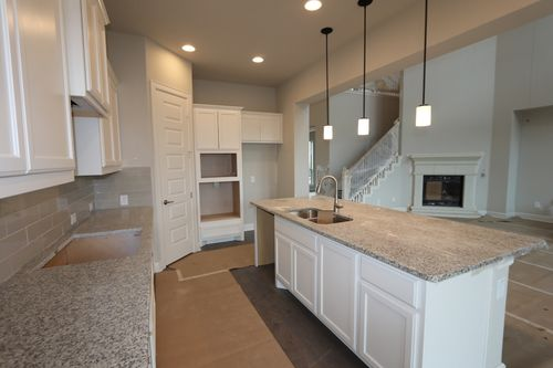 Kitchen-in-Kempner-at-Paloma Lake-in-Round Rock