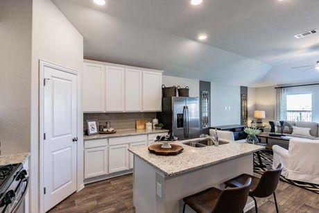 Kitchen-in-Freestone-at-Peninsula at Plum Creek-in-Kyle
